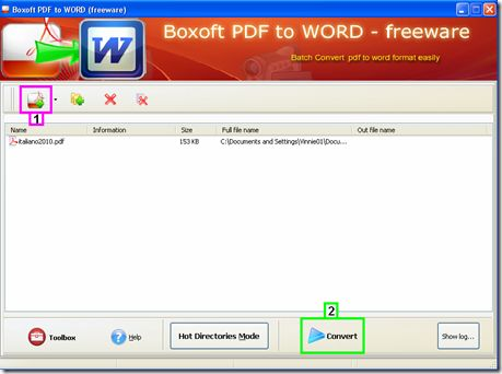 Convertire un file PDF in documento .doc