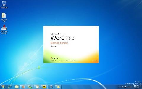 Microsoft Word: disabilitare lo splash screen
