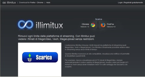 Firefox: visioni illimitate su Megavideo