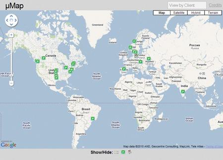 Google Maps: trovare chi scarica dal P2P