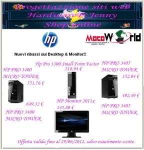 Nuovi ribassi sui Desktop & Monitor!!