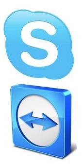 Aiuto? installa Skype & TeamViewer
